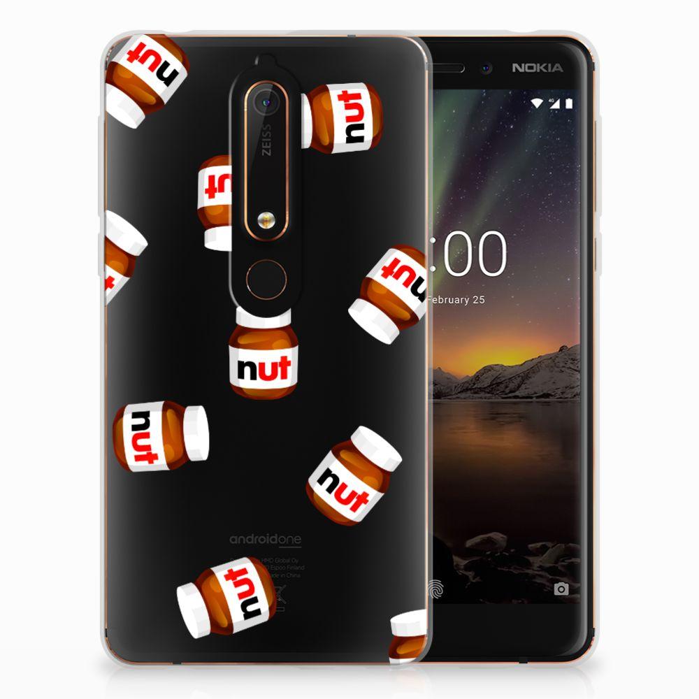 Nokia 6 (2018) Siliconen Case Nut Jar