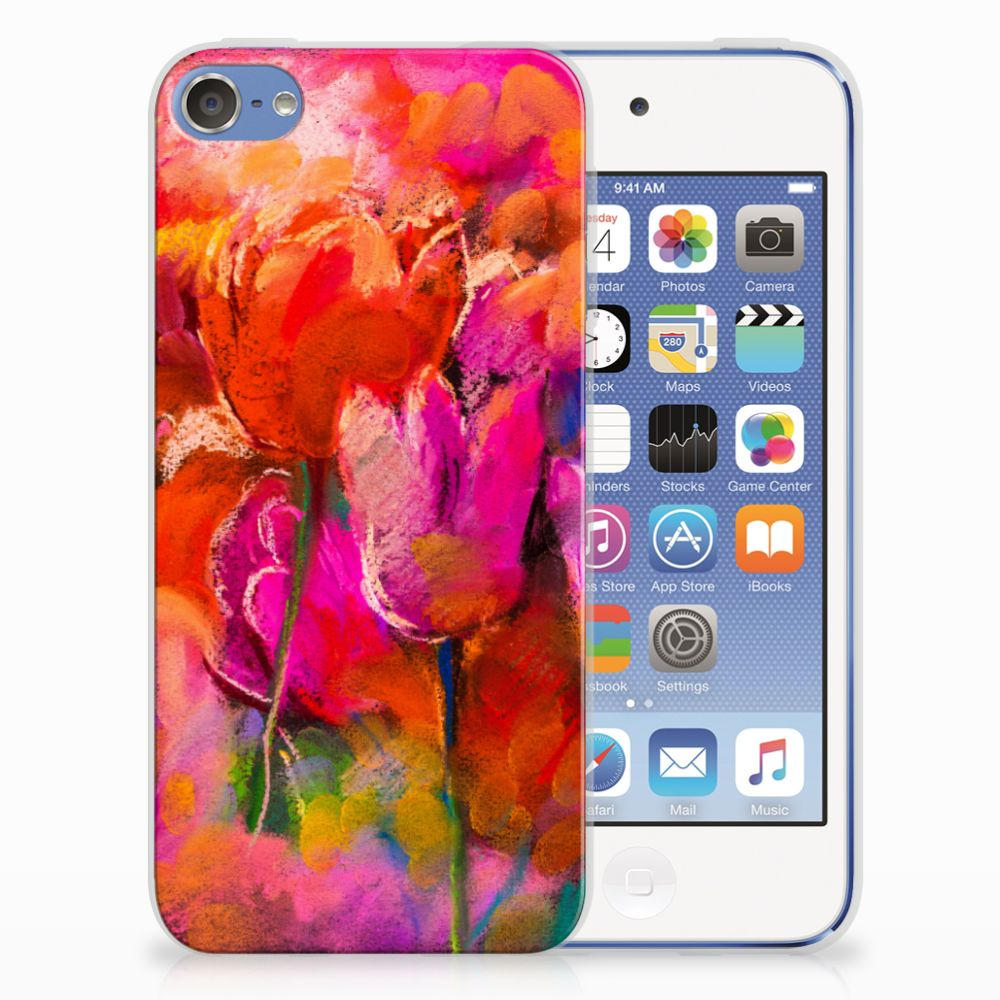 Apple iPod Touch 5 | 6 TPU Hoesje Design Tulips