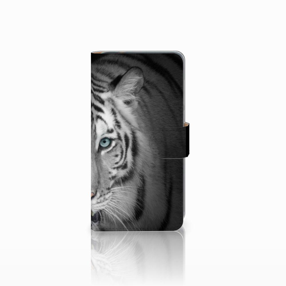 Huawei P8 Lite 2017 Uniek Boekhoesje Tijger