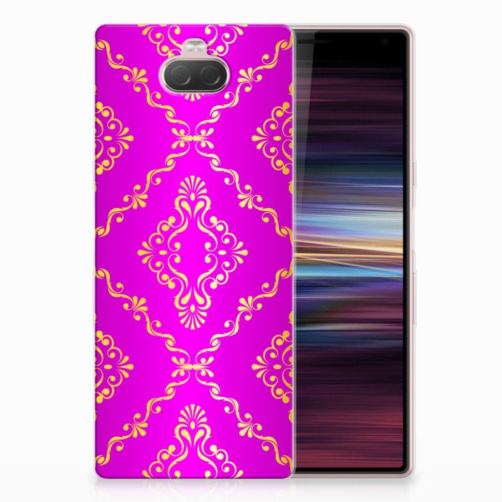Siliconen Hoesje Sony Xperia 10 Barok Roze