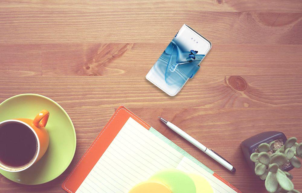 Apple iPhone 4 | 4S Telefoonhoesje met Pasjes Vlinders