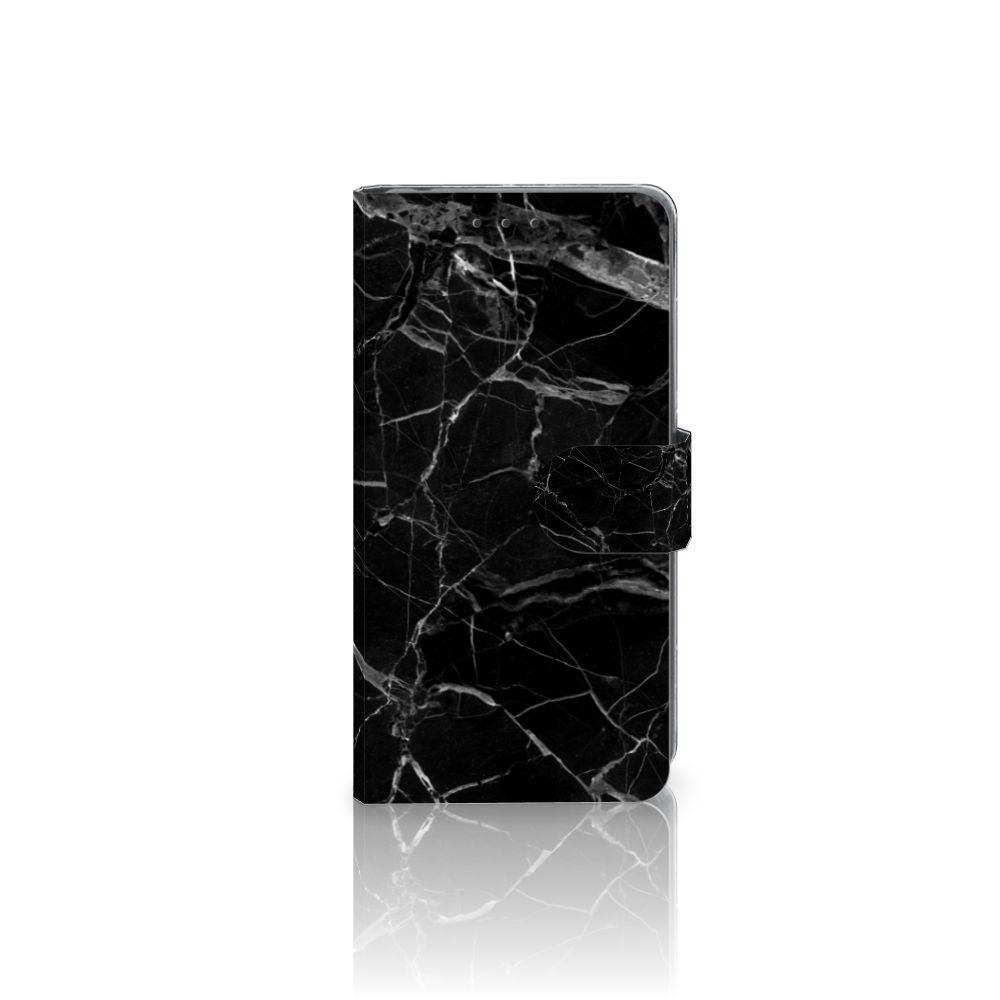 Sony Xperia Z2 Uniek Boekhoesje Marmer Zwart