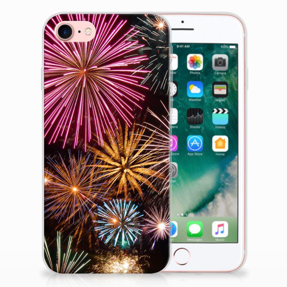 Apple iPhone 7 | 8 TPU Hoesje Design Vuurwerk