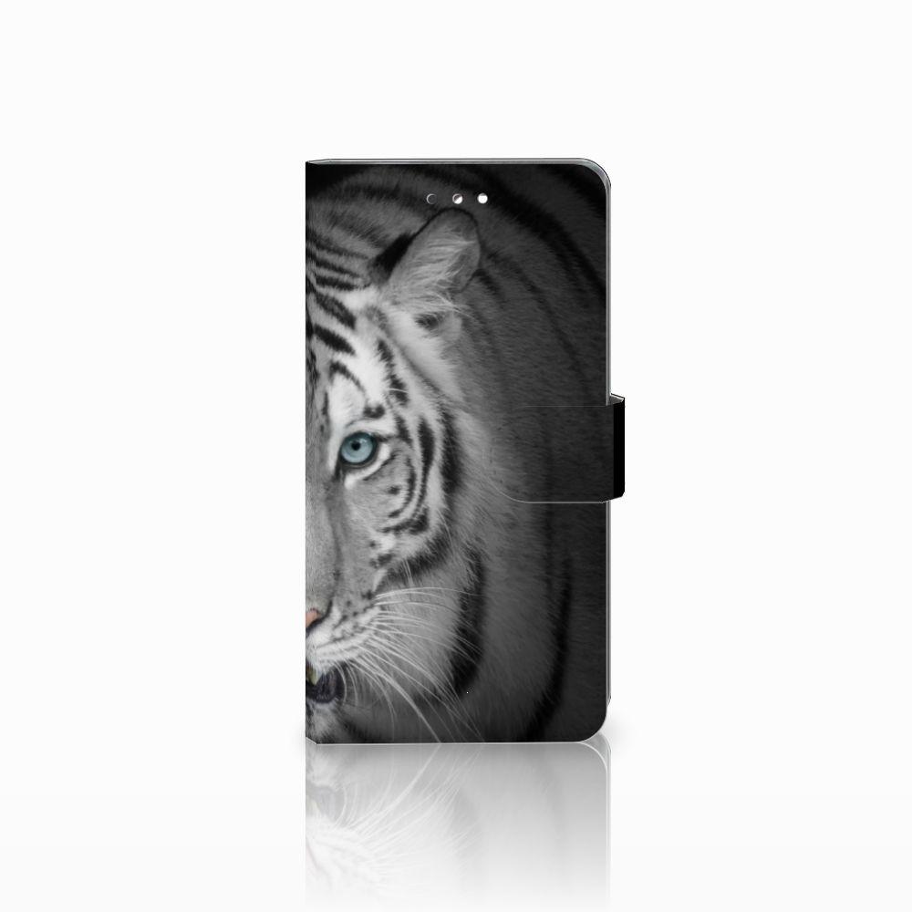 Sony Xperia XZ Premium Uniek Boekhoesje Tijger