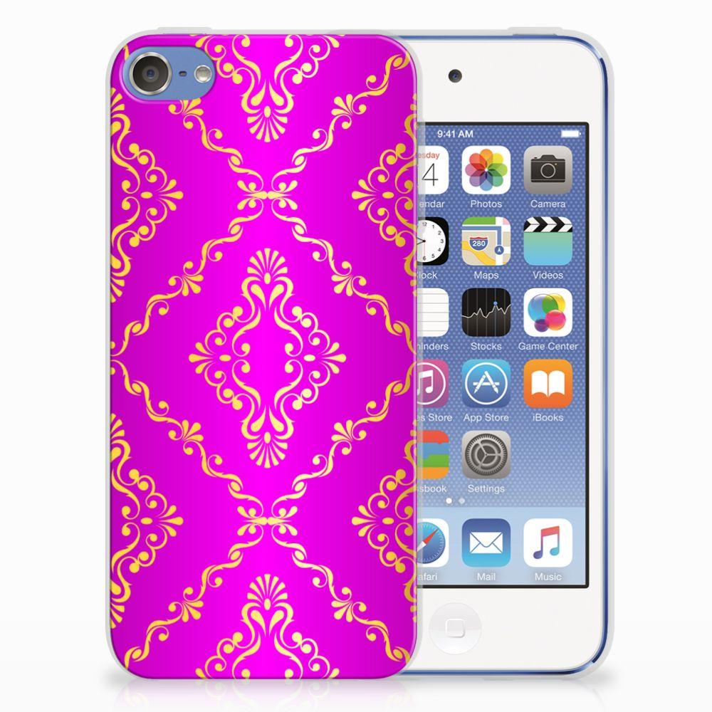 Siliconen Hoesje Apple iPod Touch 5 | 6 Barok Roze