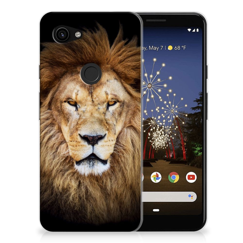 Google Pixel 3A TPU Hoesje Leeuw