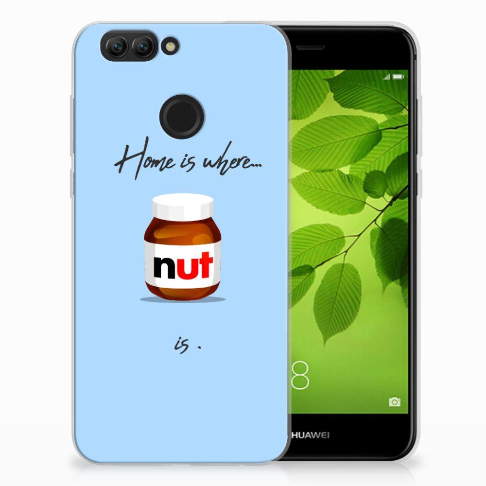 Huawei Nova 2 Siliconen Case Nut Home