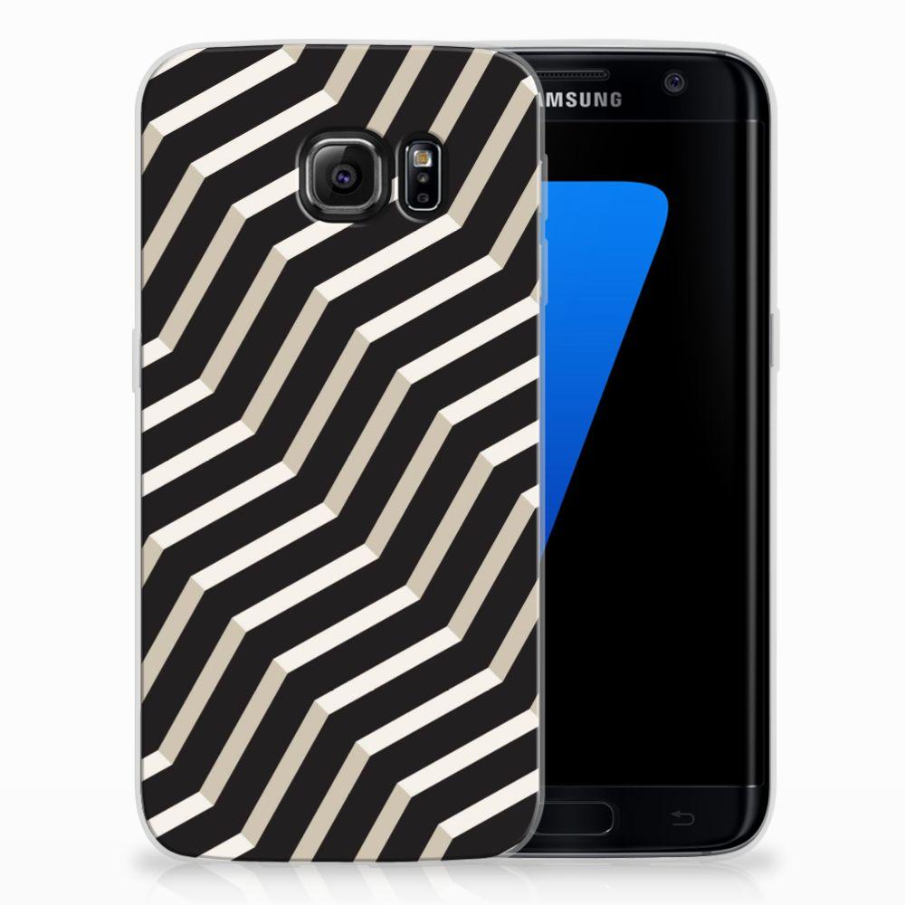 Samsung Galaxy S7 Edge TPU Hoesje Design Illusion