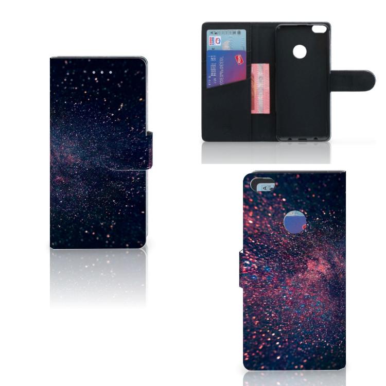 Huawei P8 Lite 2017 Bookcase Stars