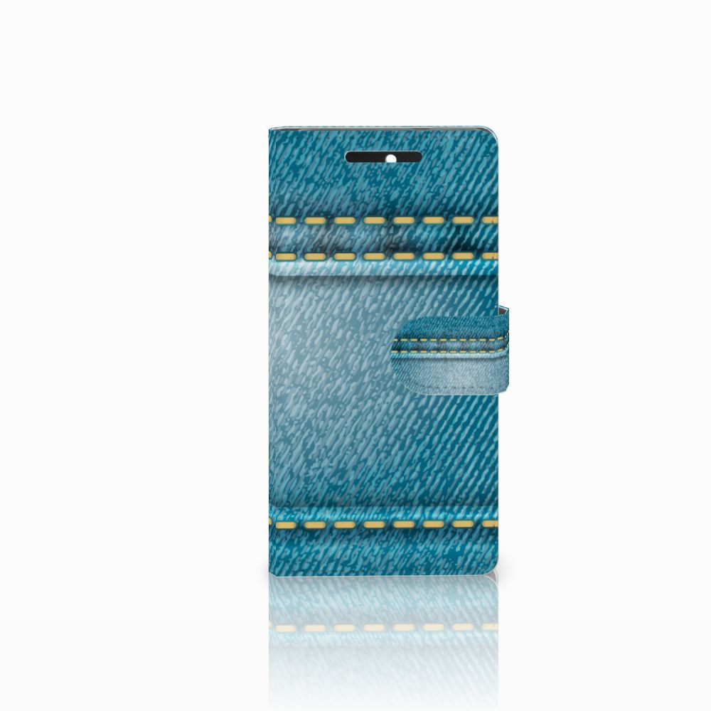 HTC Desire 628 Boekhoesje Design Jeans