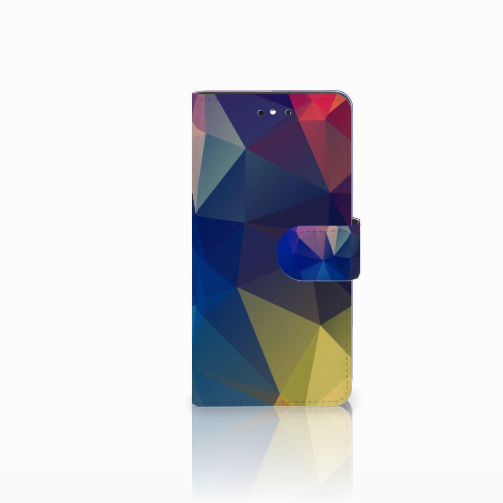 Huawei P8 Lite Smart (GR3) Bookcase Polygon Dark