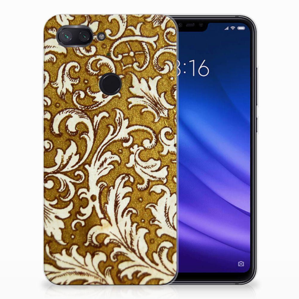 Siliconen Hoesje Xiaomi Mi 8 Lite Barok Goud
