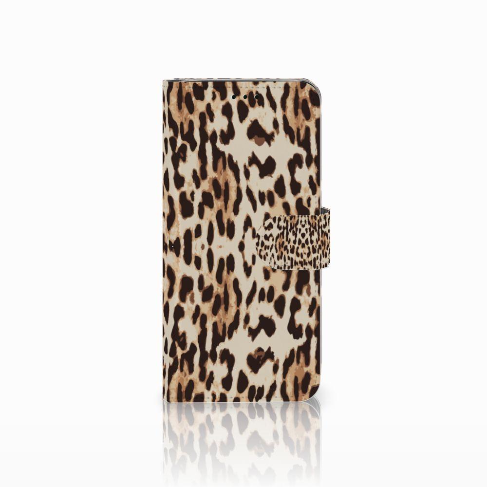 Samsung Galaxy J6 2018 Uniek Boekhoesje Leopard