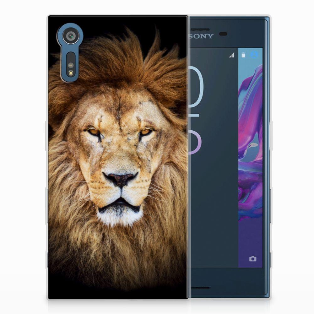 Sony Xperia XZs | XZ TPU Hoesje Design Leeuw