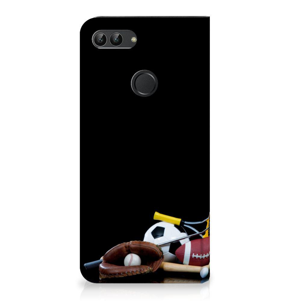 Huawei P Smart Standcase Hoesje Design Sports