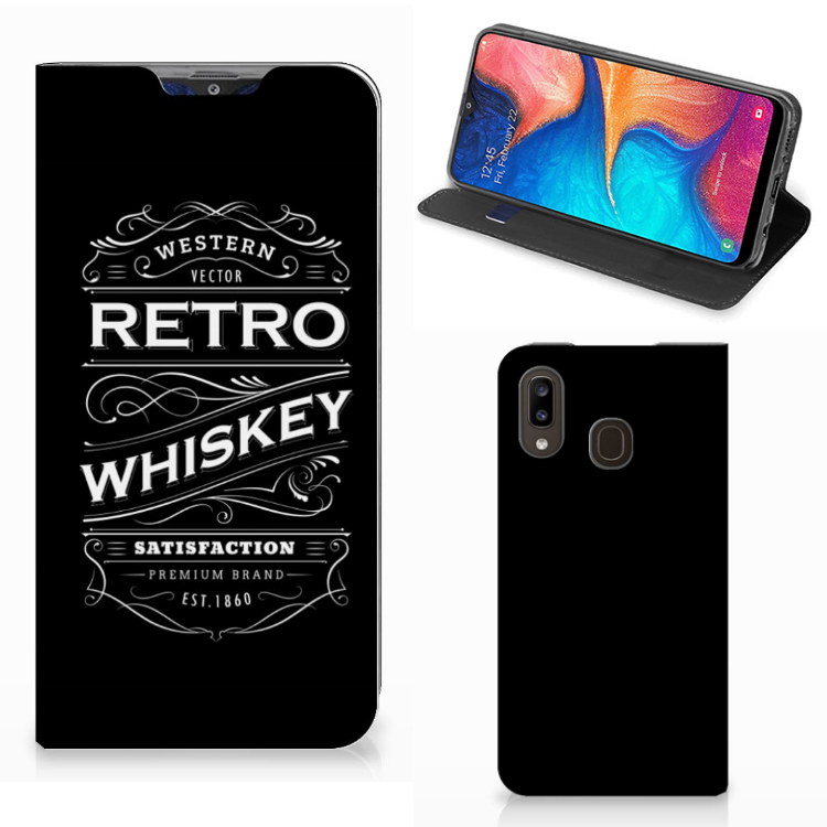 Samsung Galaxy A30 Flip Style Cover Whiskey