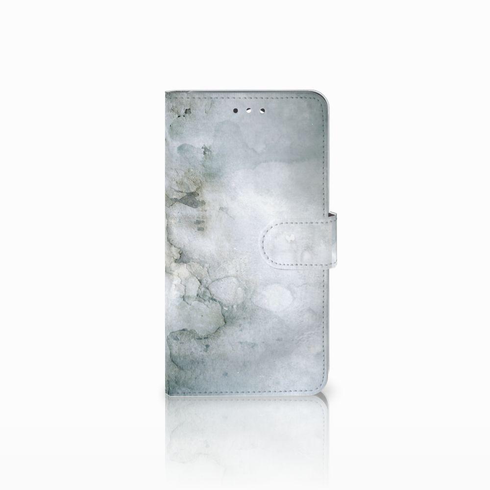 Huawei Y7 2017 | Y7 Prime 2017 Uniek Boekhoesje Painting Grey