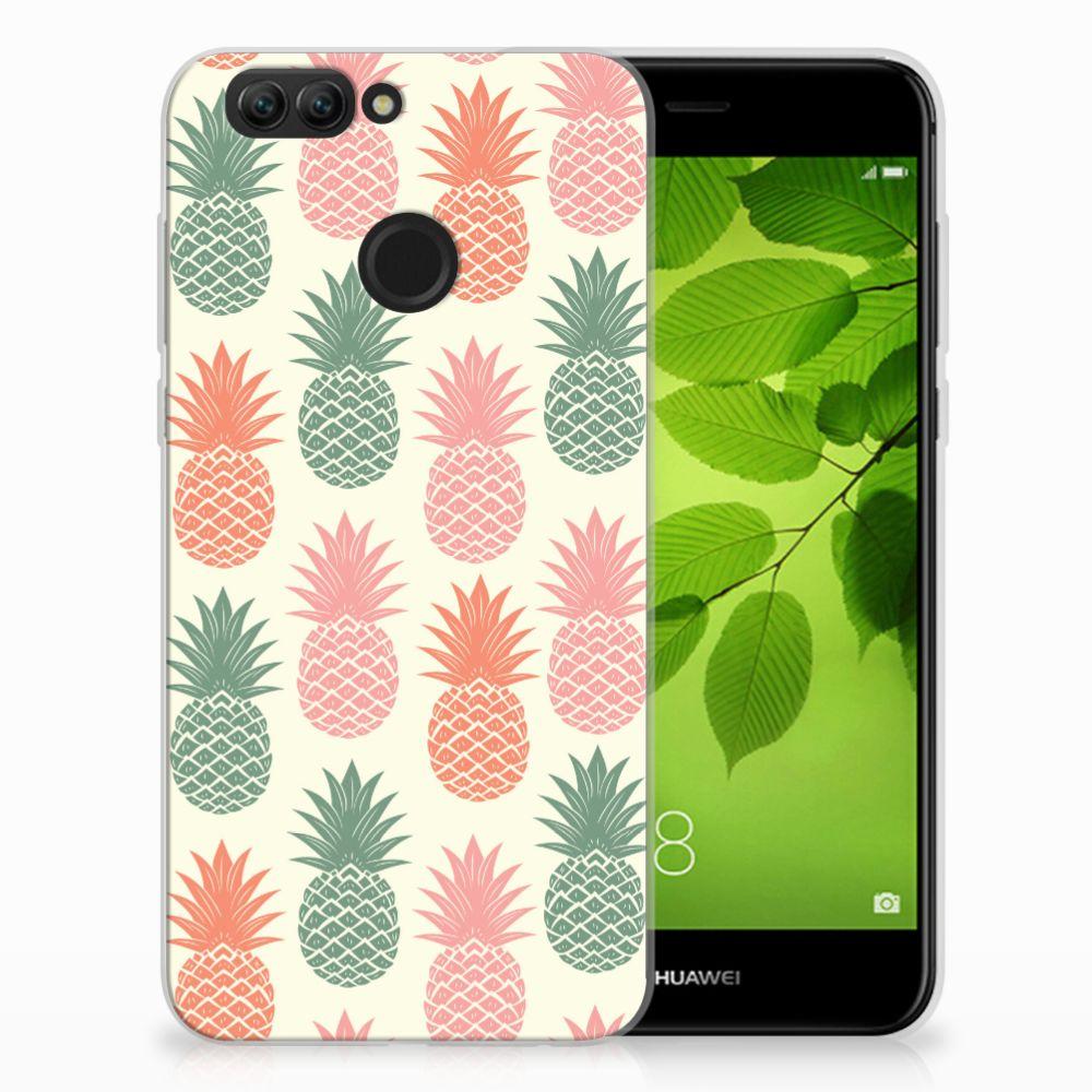 Huawei Nova 2 Siliconen Case Ananas