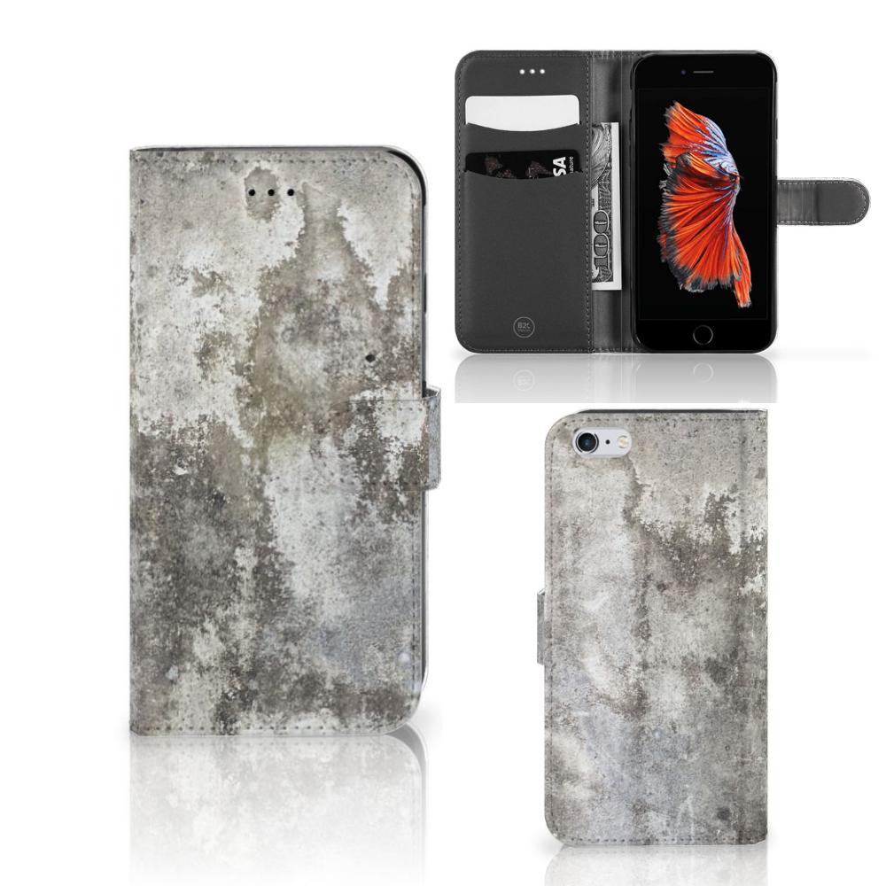 Apple iPhone 6 Plus | 6s Plus Bookcase Beton Print