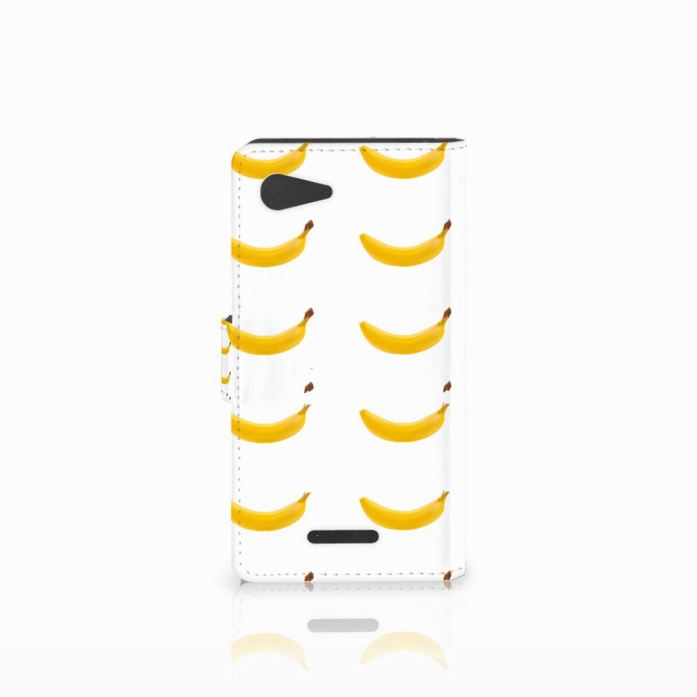 Sony Xperia E3 Book Cover Banana