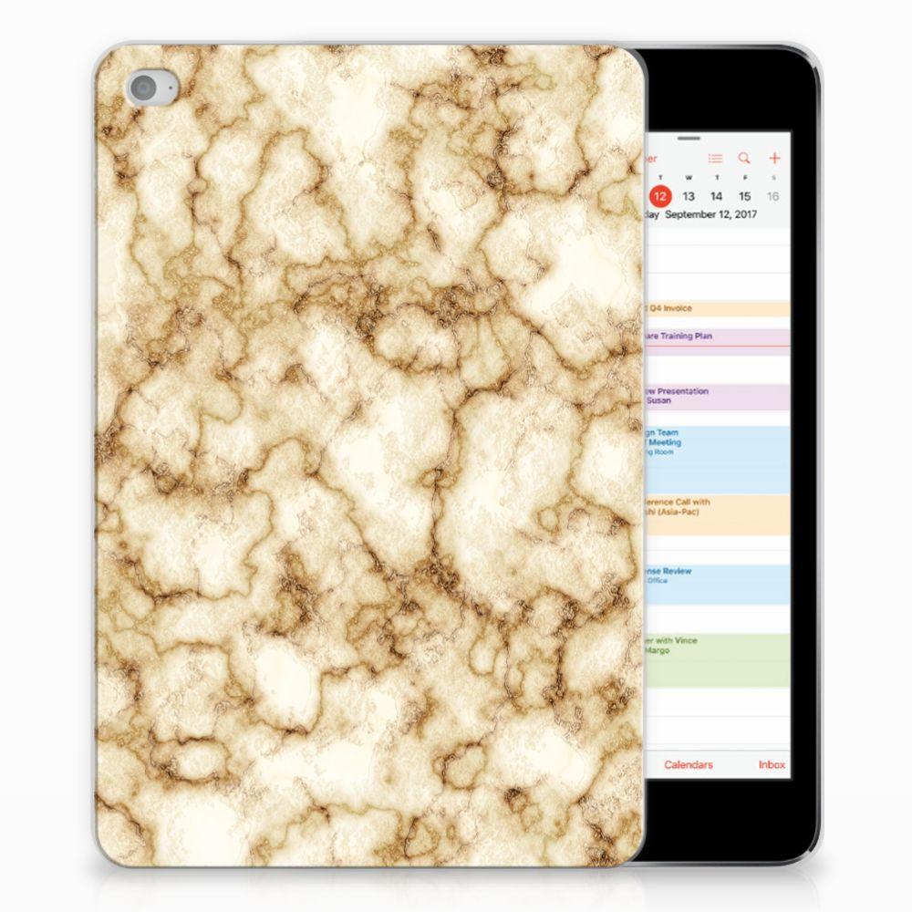 Apple iPad Mini 4 | Mini 5 (2019) Tablet Back Cover Marmer Goud