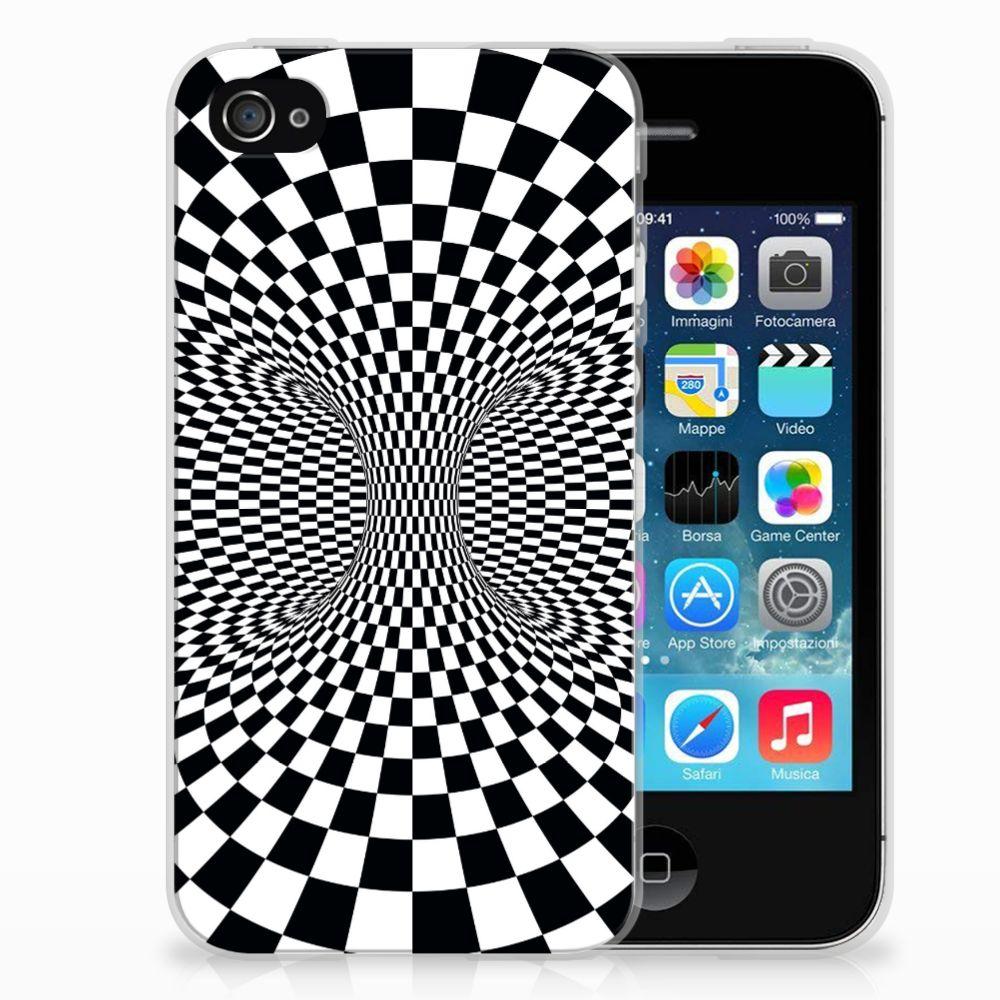 Apple iPhone 4 | 4s TPU Hoesje Design Illusie