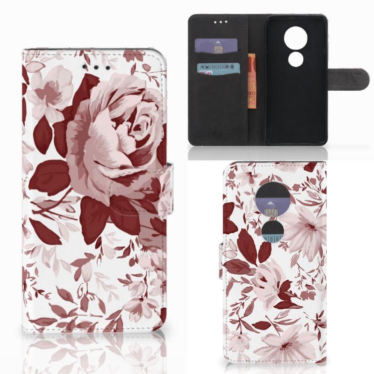 Hoesje Motorola Moto E5 Play Watercolor Flowers