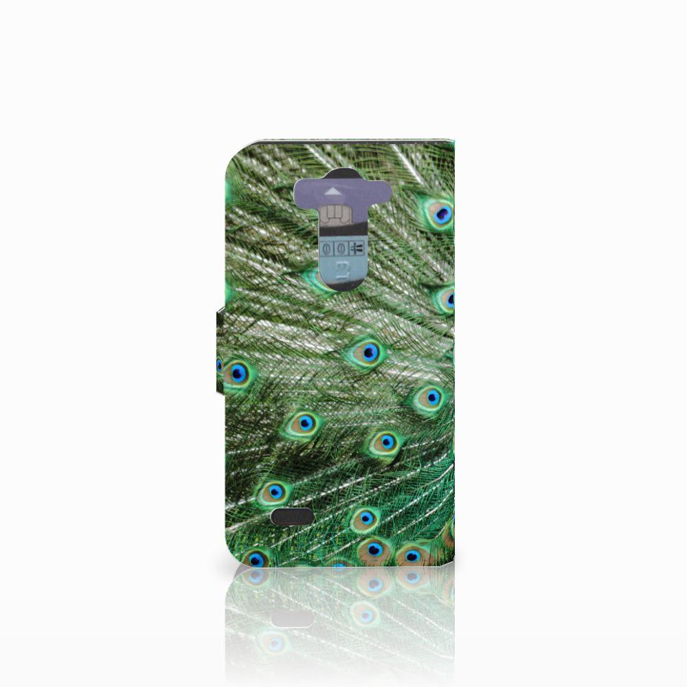 LG G3 S Telefoonhoesje met Pasjes Pauw