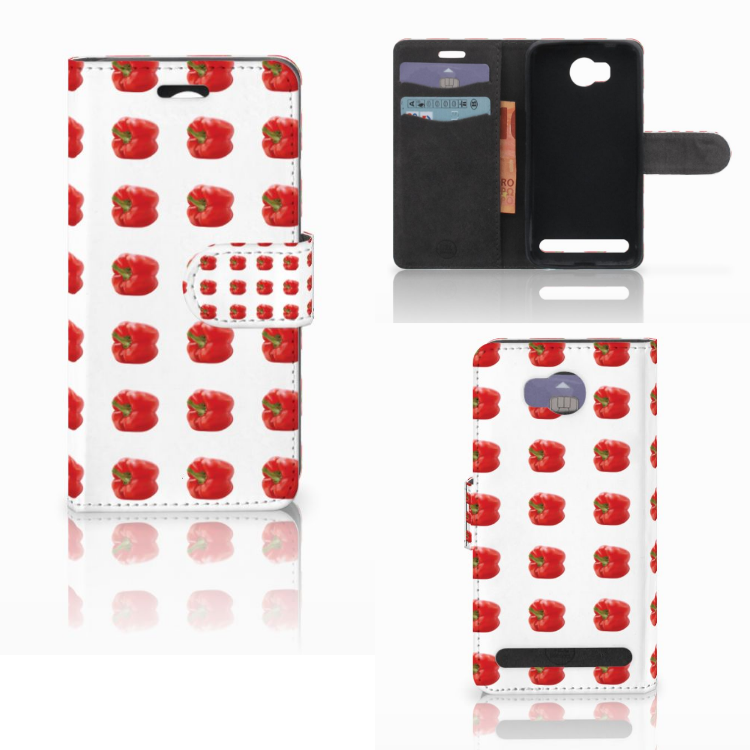 Huawei Y3 2 | Y3 II Book Cover Paprika Red