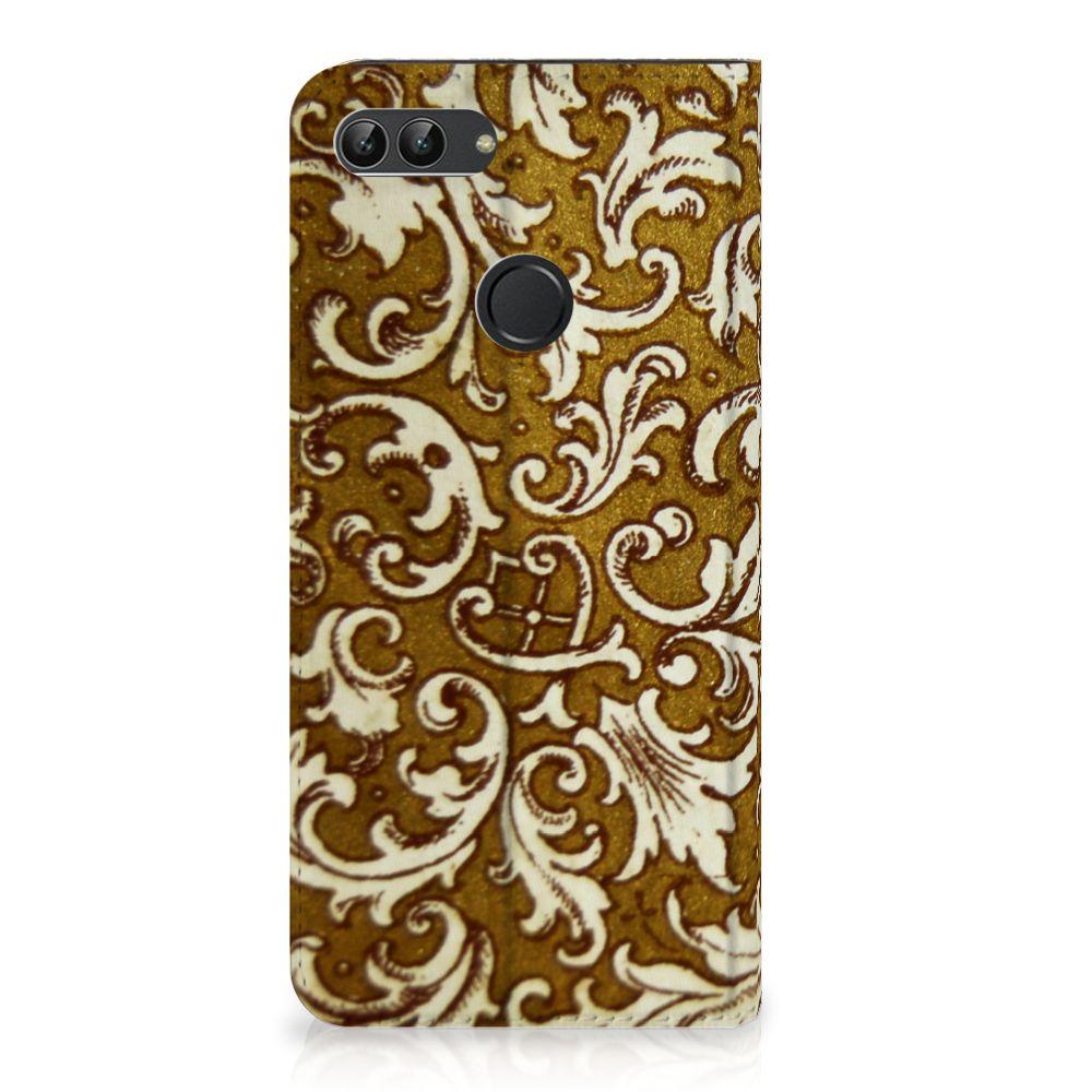 Telefoon Hoesje Huawei P Smart Barok Goud