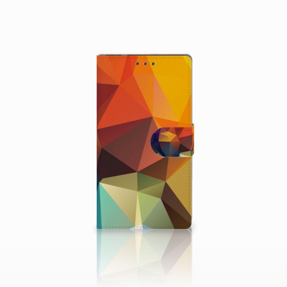 Samsung Galaxy Note 4 Boekhoesje Design Polygon Color