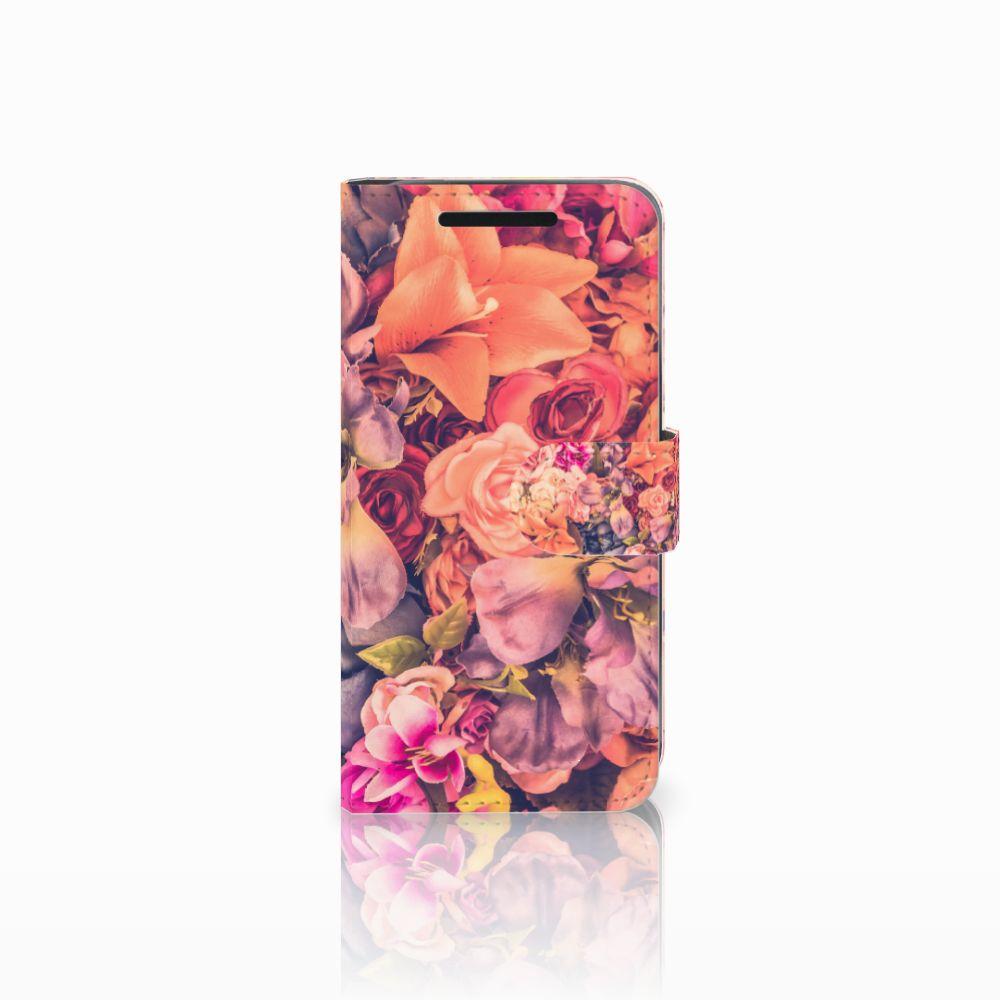 HTC One M9 Boekhoesje Design Bosje Bloemen