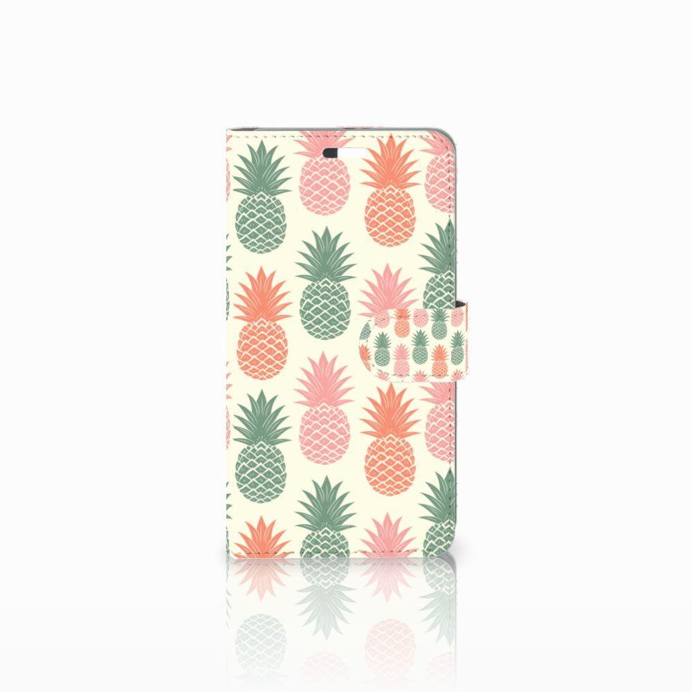 Huawei P9 Plus Boekhoesje Design Ananas