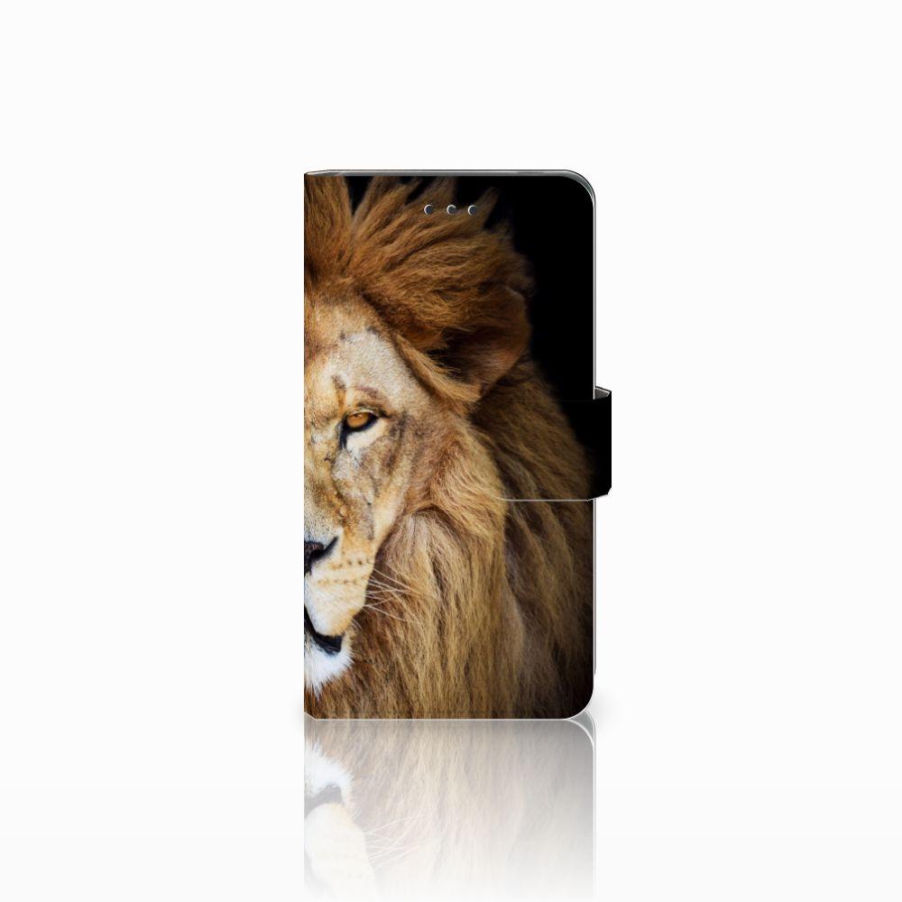 Nokia 7 Boekhoesje Design Leeuw