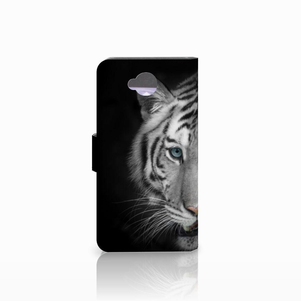 Microsoft Lumia 650 Telefoonhoesje met Pasjes Tijger