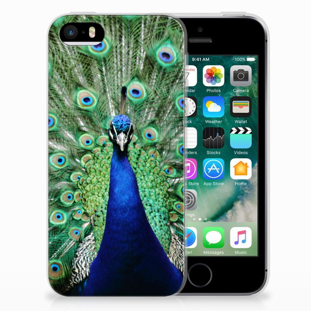 Apple iPhone SE | 5S TPU Hoesje Pauw