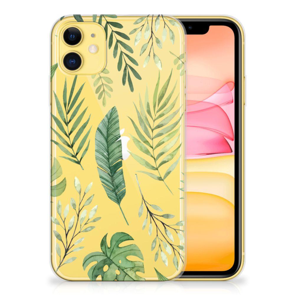 Apple iPhone 11 TPU Case Leaves
