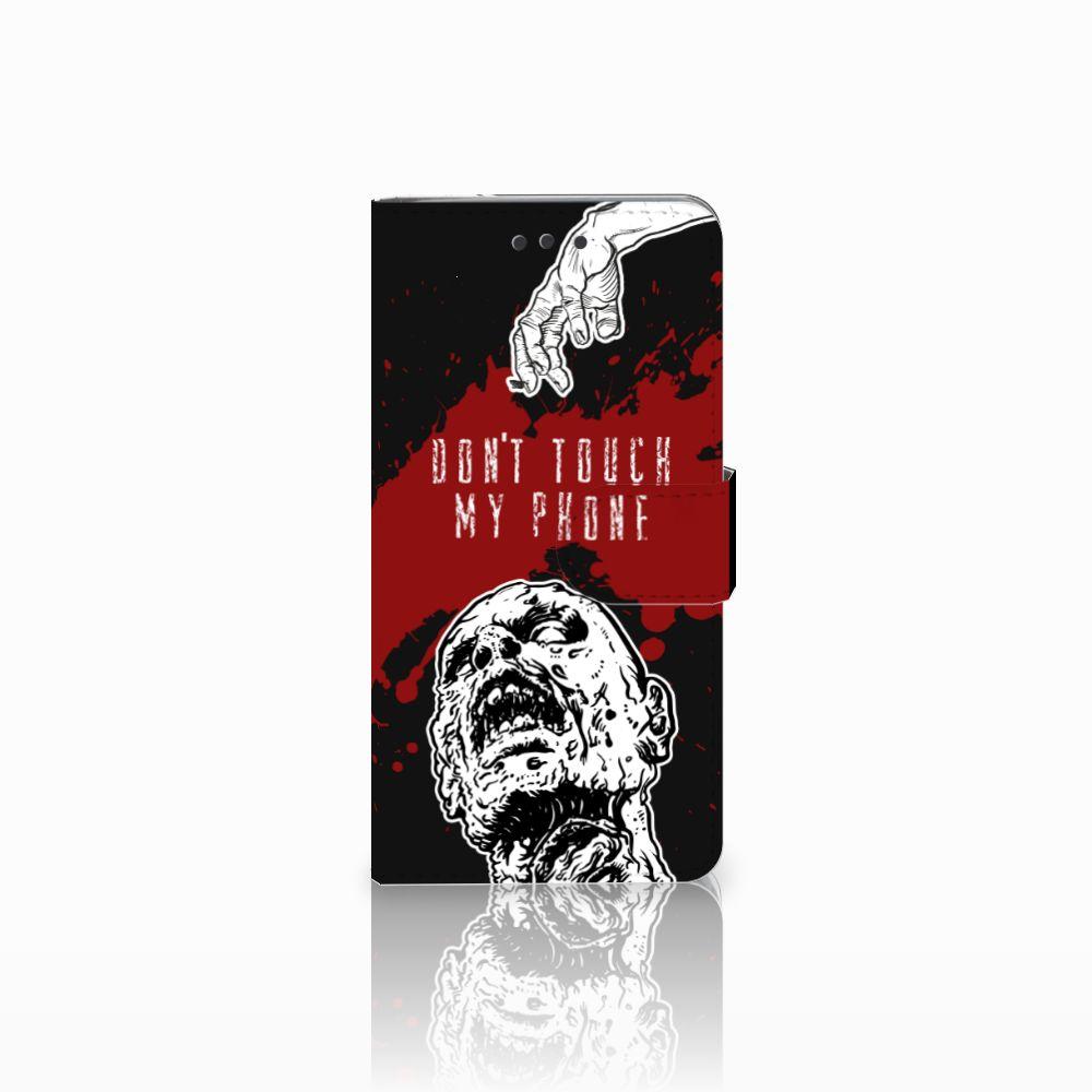 HTC U Play Boekhoesje Design Zombie Blood