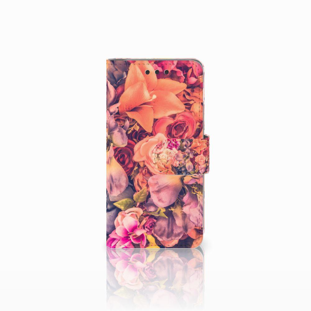 Samsung Galaxy A3 2016 Boekhoesje Design Bosje Bloemen