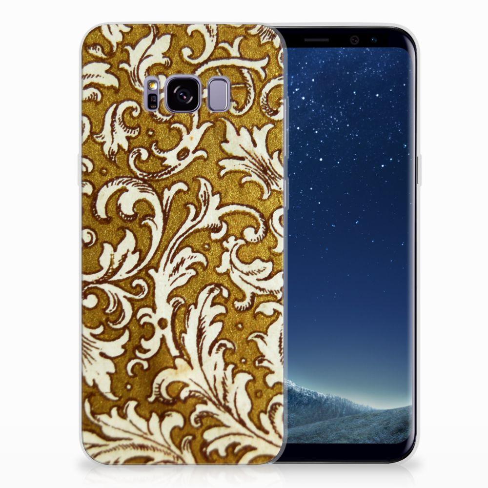 Samsung Galaxy S8 Plus TPU Hoesje Design Barok Goud