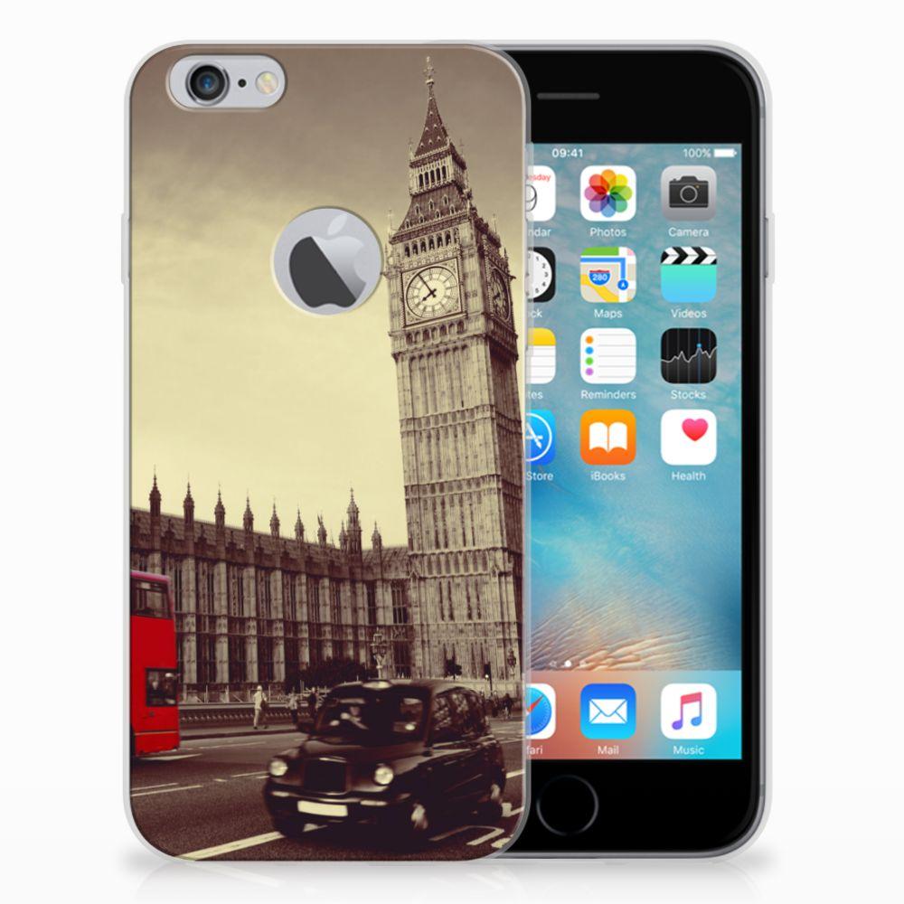 Apple iPhone 6 Plus | 6s Plus Siliconen Back Cover Londen
