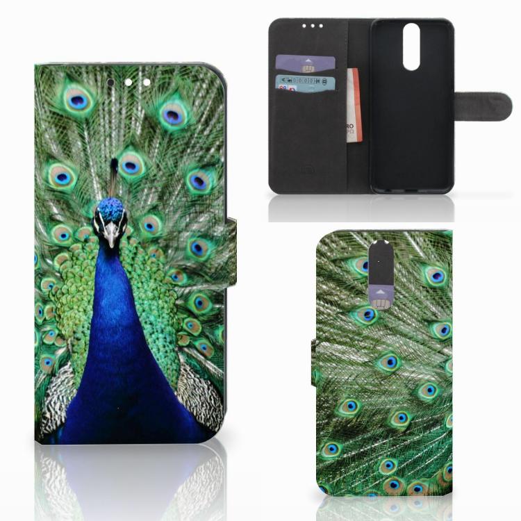 Huawei Mate 10 Lite Telefoonhoesje met Pasjes Pauw