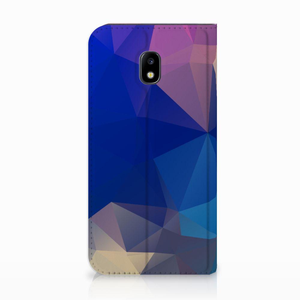Samsung Galaxy J3 2017 Stand Case Polygon Dark