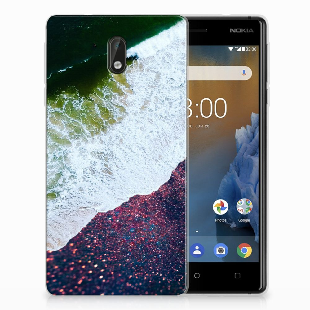 Nokia 3 TPU Hoesje Sea in Space