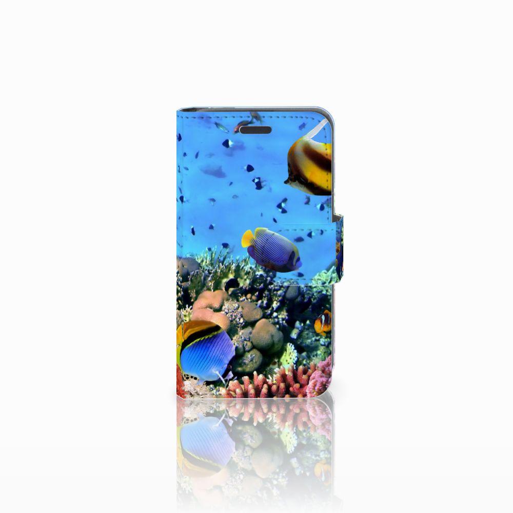 Nokia Lumia 520 Uniek Boekhoesje Opbergvakjes Vissen