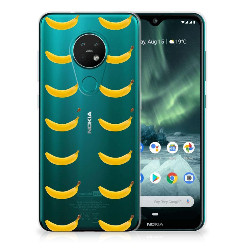 Nokia 7.2 | 6.2 Siliconen Case Banana