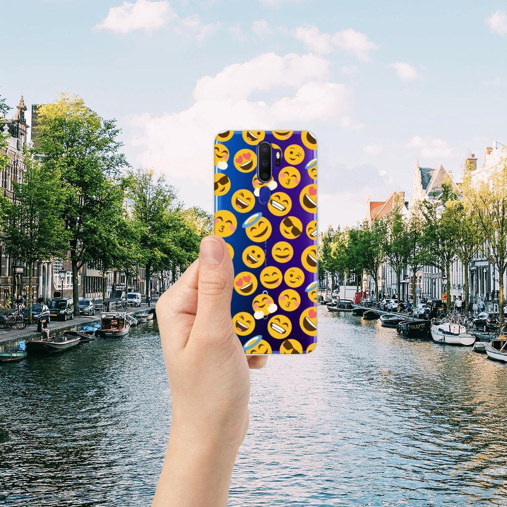 OPPO A9 2020 TPU bumper Emoji