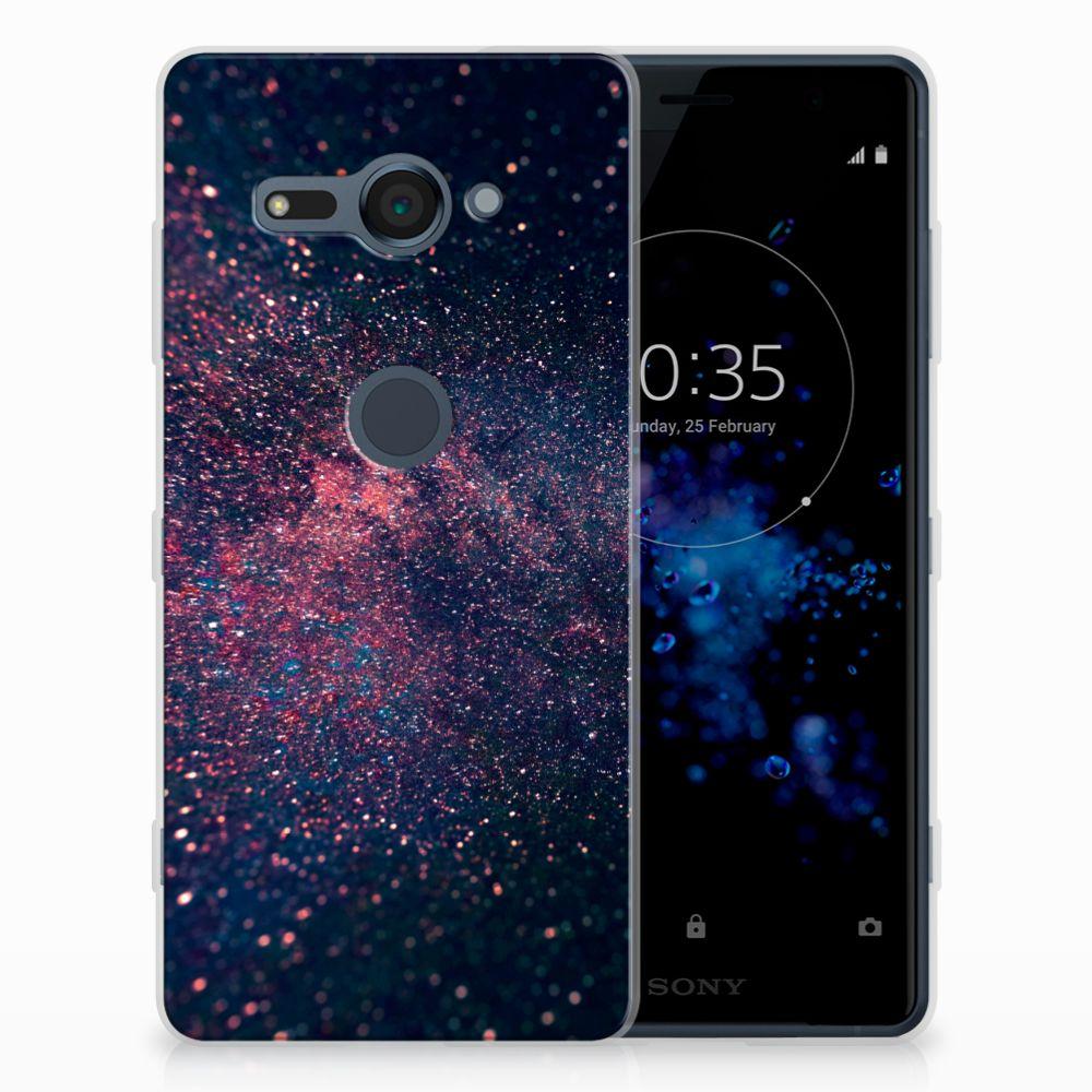 Sony Xperia XZ2 Compact TPU Hoesje Stars