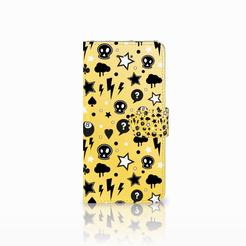 LG Nexus 5X Uniek Boekhoesje Punk Yellow