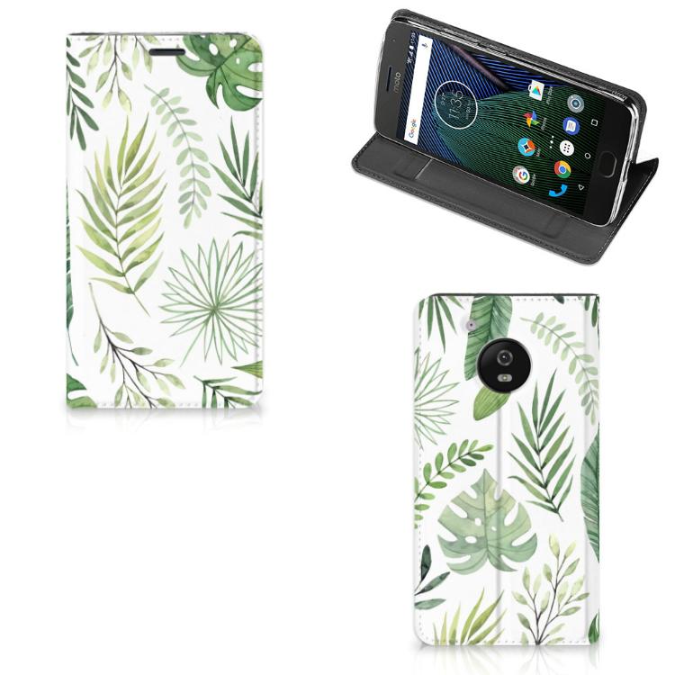 Motorola Moto G5 Smart Cover Leaves